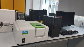 UV/Vis Spectrophotometer The LAMBDA™ 365 delivers state-of-the-art UV/Vis performance that meets the needs of pharmaceuticals, analytic chemists, geneticists, and manufacturing QA/QC analysts everywhere. With 21 CFR part 11 compliant software available, the LAMBDA system is ready to support everything from standard methods and applications to those requiring regulatory compliance. http://www.perkinelmer.co.uk/Product/lambda-365-spectrophotometer-uv-express-n4100020