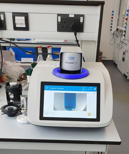 """The Discover® 2.0 is the premier microwave reactor for performing any organic or inorganic synthetic chemistry. Featuring a best-in-class 300 mL single-mode microwave cavity and intuitive software with a 10"""" touchscreen interface, it is possible to program a reaction in seconds and achieve the best synthetic yield in minutes."""